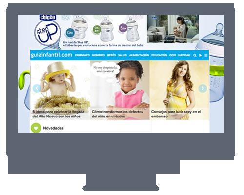 Especificaciones técnicas de publicidad versión PC