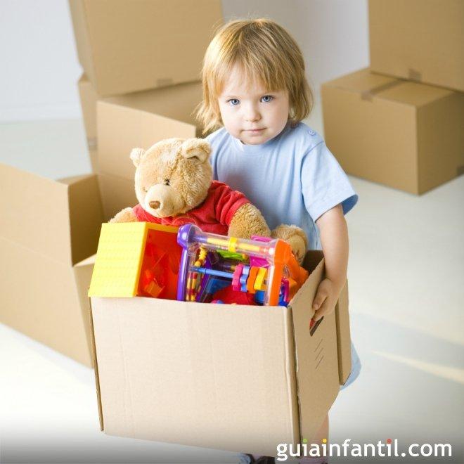 Una caja para los juguetes de los niños