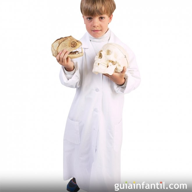 Disfraz de Médico Forense para un Halloween infantil