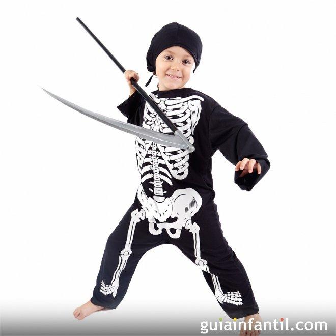 Disfraz de Esqueleto o Calavera para los niños