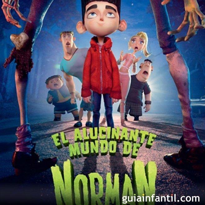 El alucinante mundo de Norman. Película para niños
