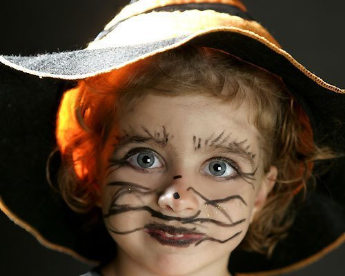Maquillaje de Pequeña bruja para Halloween - Ideas de maquillaje ...