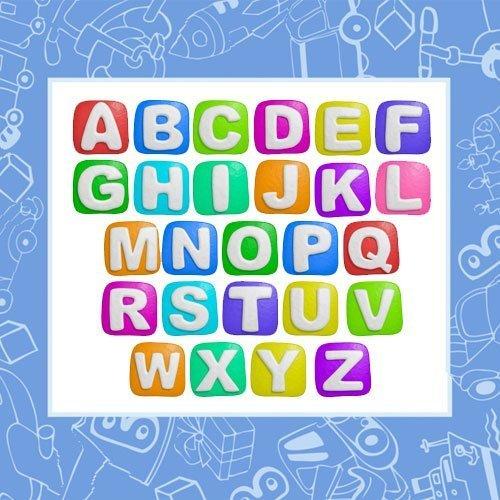 Busca las letras de tu nombre en este abecedario en Mayúsculas ?