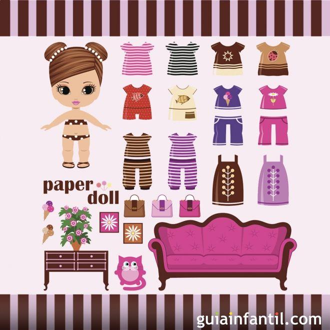Muñecas para imprimir y vestir