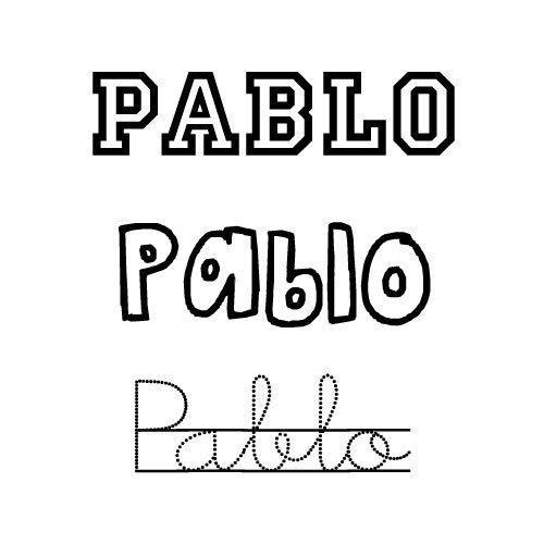 Pablo. Nombre para niño