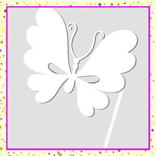 Antifaz de mariposa para colorear con los niños