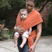 Fular alegre y cómodo para el bebé