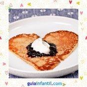 Tortitas con mermelada. Recetas dulces de corazón