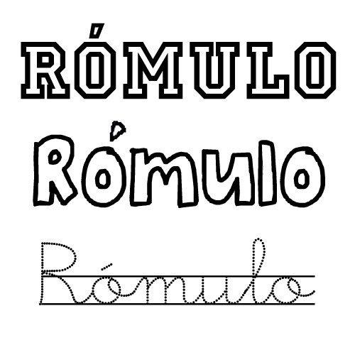 Rómulo. Nombres para niños