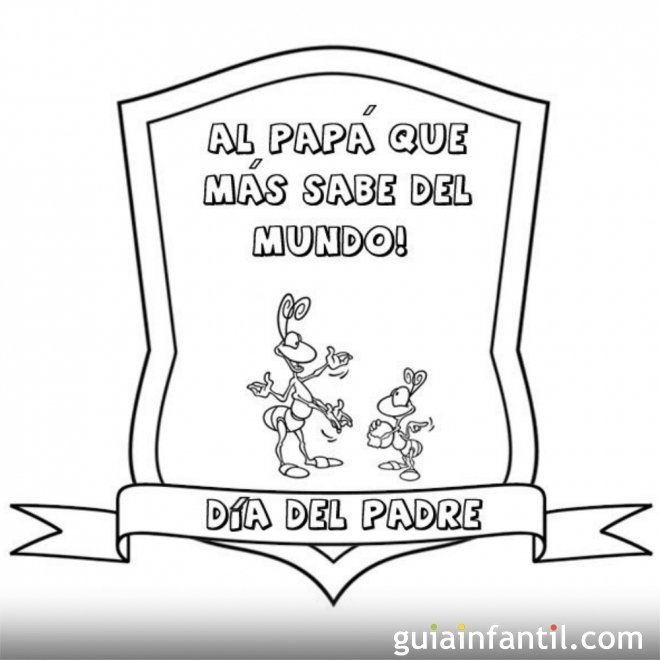 Felicidades papá  1742-4-medalla-al-papa-que-mas-sabe-dibujos-para-pintar