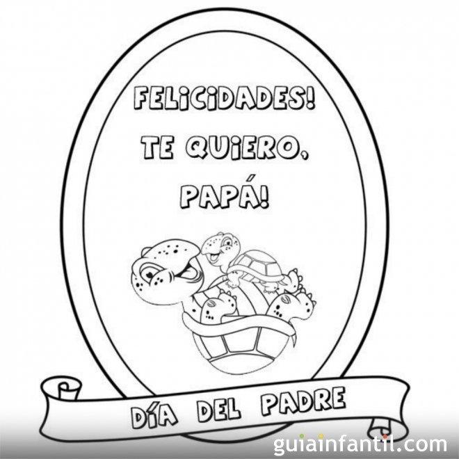 Felicidades papá  1744-4-medalla-dia-del-padre-dibujos-para-colorear