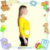 Tu bebé en con frutas y verduras. Primer mes de embarazo