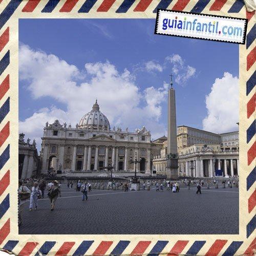 Ciudad del Vaticano. Viajar a Roma con los niños