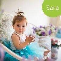 Los nombres de niñas más populares. Sara