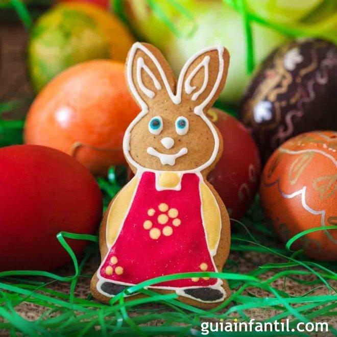 Galletas de Pascua decoradas. Galletas animadas