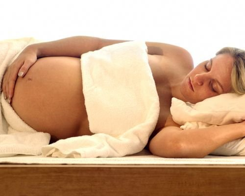 Relajante masaje para embarazadas