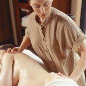 Masaje de espalda para embarazadas