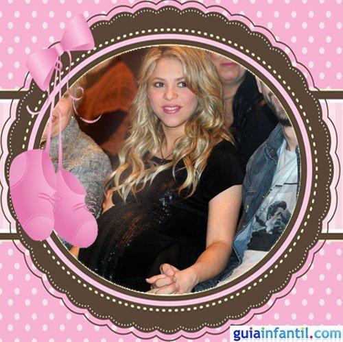 La cantante Shakira embarazada del pequeño Milan