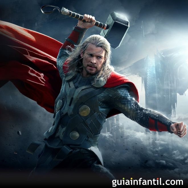 Thor. Películas para niños de superhéroes