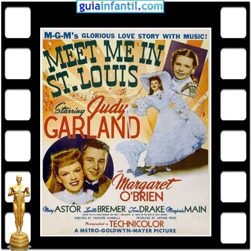 La actriz Margaret O Brian ganó un Premio Oscar por Cita en San Luís