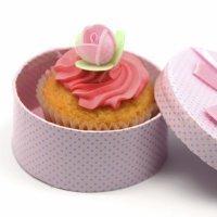 Cupcake de zanahoria para regalar el Día de la Madre
