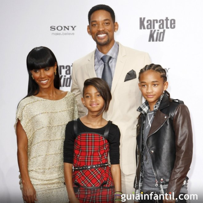 Willow y Jaden son los nombres de los hijos de Will Smith