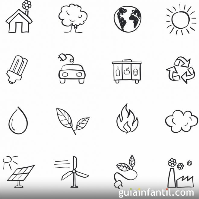 Imágenes para colorear sobre el respeto al medio ambiente ...