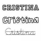 Dibujos del nombre para niñas