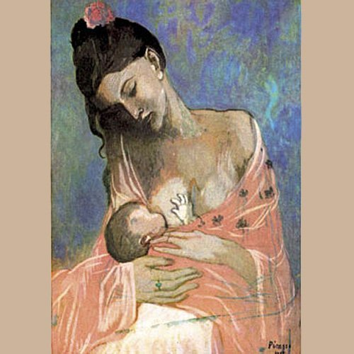 Maternidad, de Pablo Picasso. El arte de amamantar.