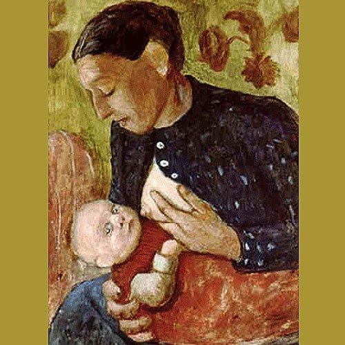 'Madre dando el pecho', de Becker. El arte de amamantar