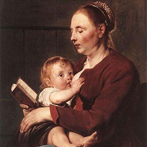 'Madre con niño', de Grebber. El arte de amamantar