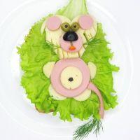 4- Sándwich de jamón y queso: león