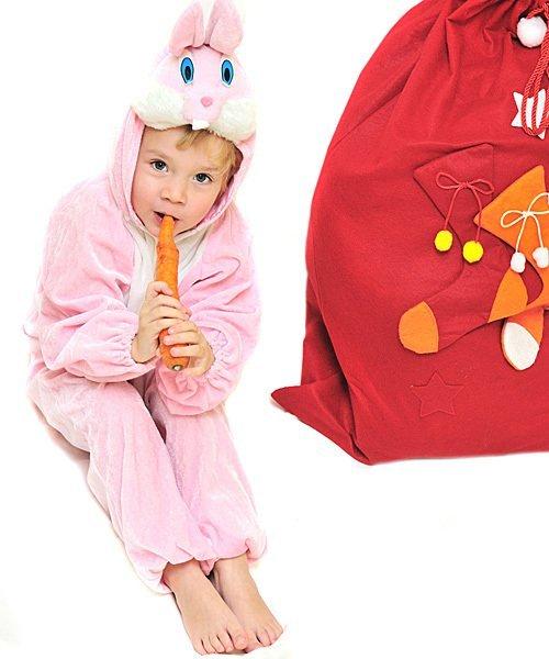 Imprimir disfraz de conejo disfraces de navidad para los - Disfraz de navidad para bebes ...