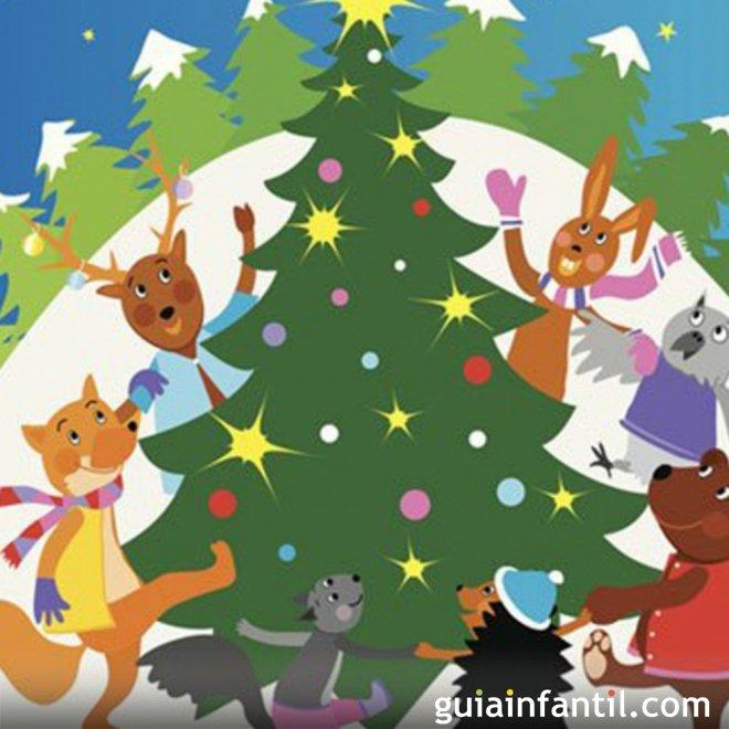 Cuento Una Navidad en el bosque con moraleja