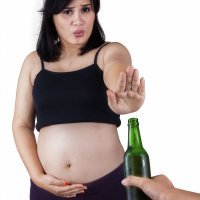 No beber alcohol durante el embarazo