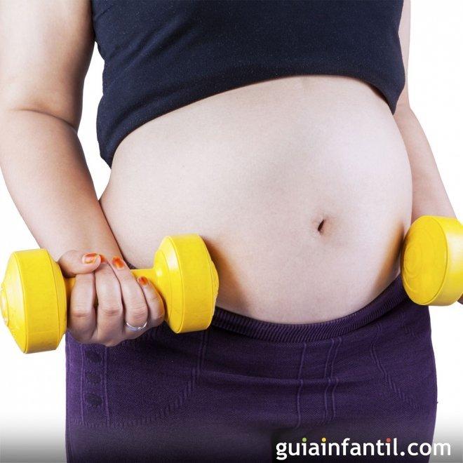 Los ejercicios físicos de alto impacto en el embarazo