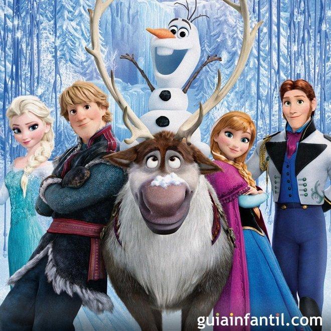 Frozen. Película de Navidad para niños