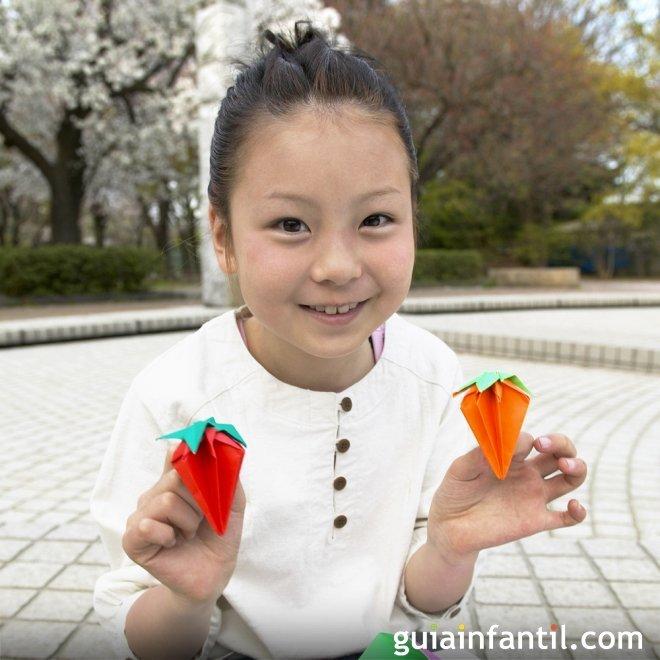 Jugar con el papel u Origami