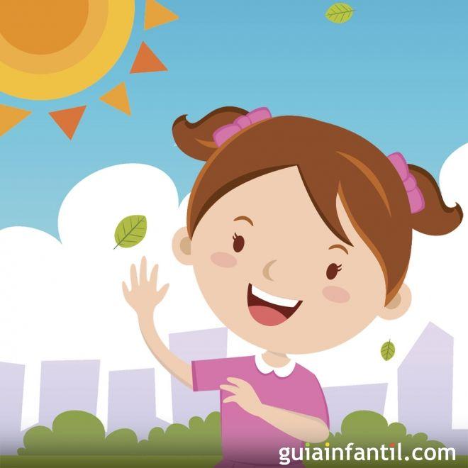 Itzelina y los rayos de sol. Cuento sobre el respeto
