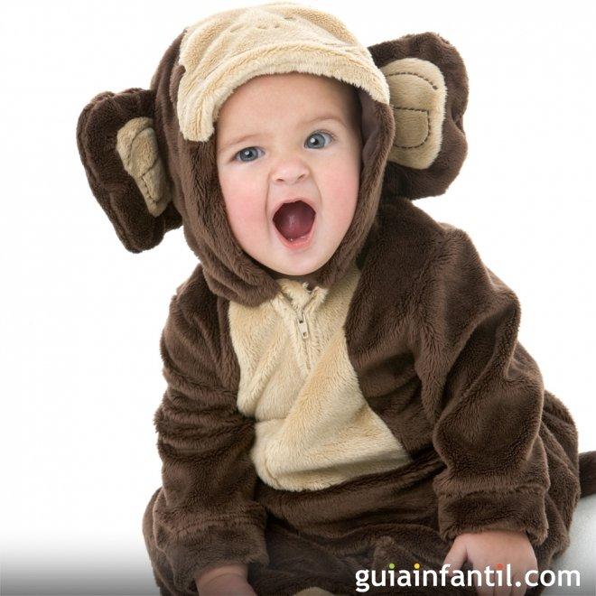 Disfraz de mono para beb s disfraces de carnaval para beb s - Disfraces para bebes de un ano ...