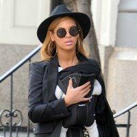 La cantante Beyoncé con su hija Blue Ivy Carter