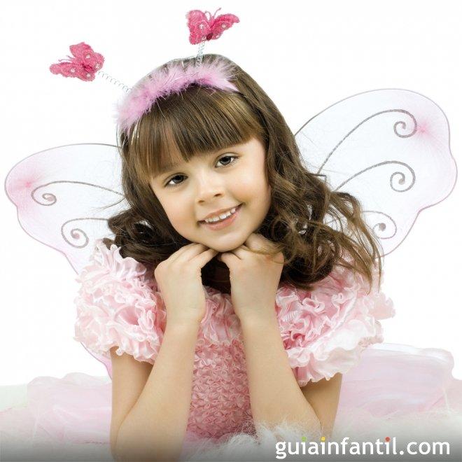 Disfraz de mariposa para niñas