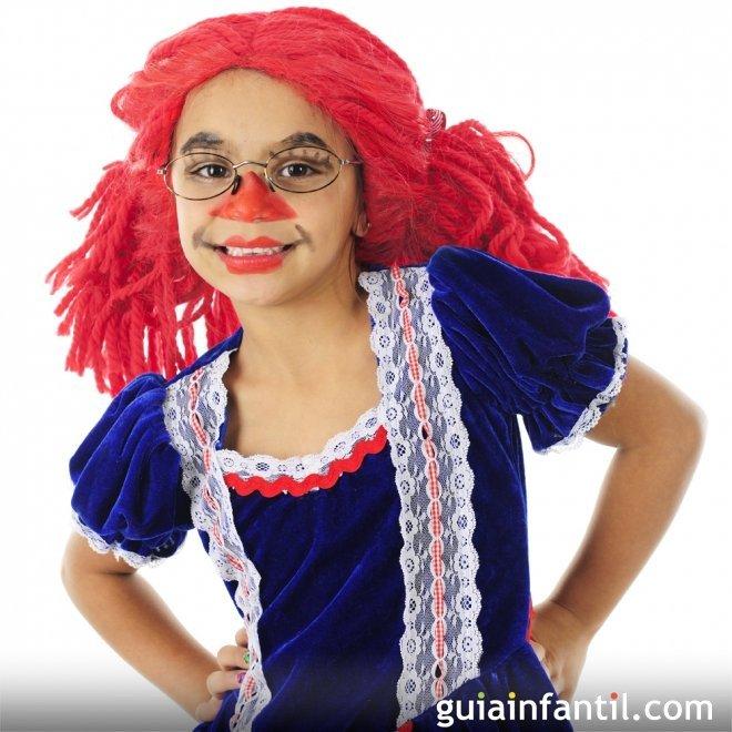 Disfraz de muñeca para niñas