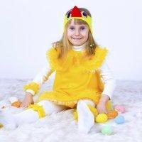 Disfraz de gallina para niñas