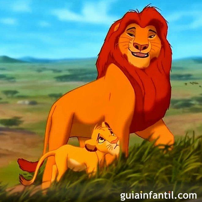 El rey león. Un papá de Disney