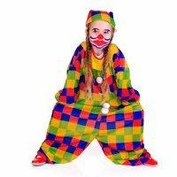 Disfraz de bufón para niñas