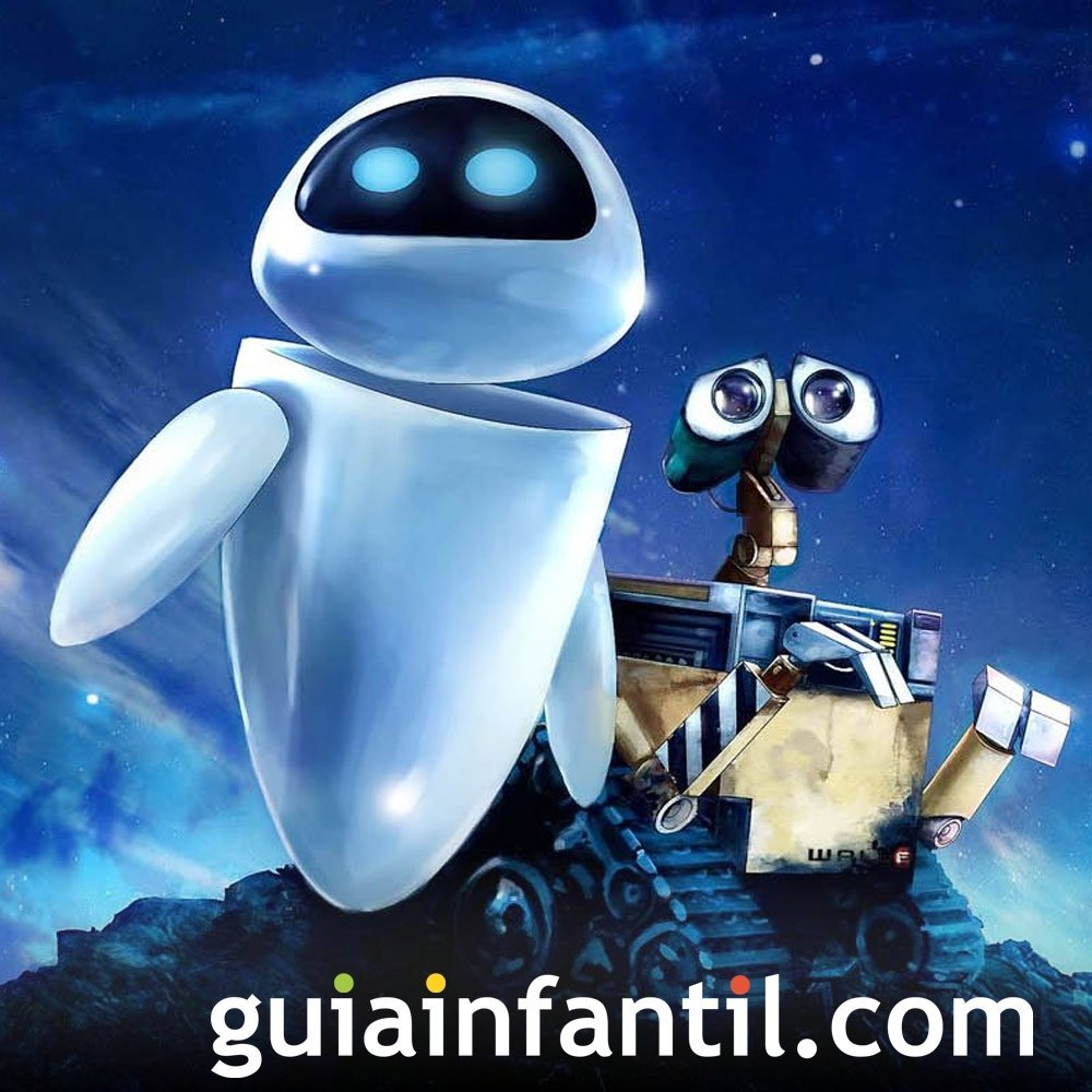 Wall-E. Película de robots para niños - 10 películas que