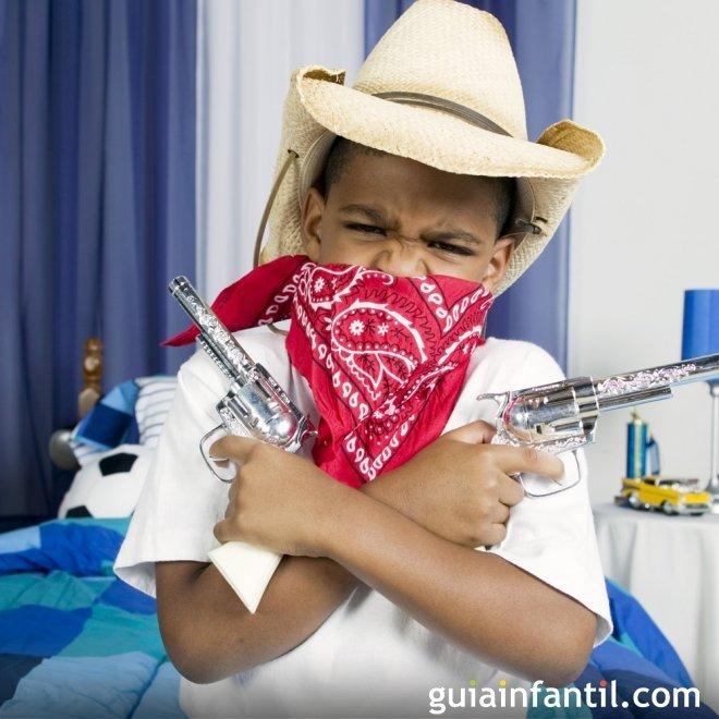 Disfraz de cowboy para niños