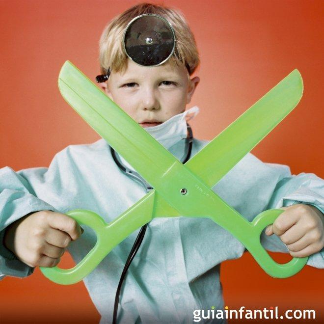 Disfraz de médico para niños