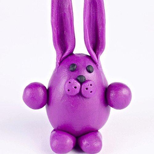 Cómo hacer un conejo de plastilina